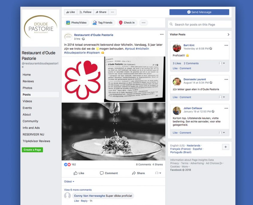 Facebook-D'oude-Pastorie